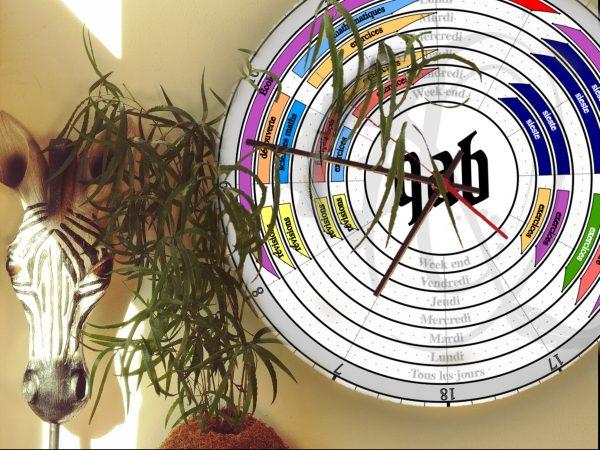 Qab'Horloge Familiale ⏲ gamme sur mesure
