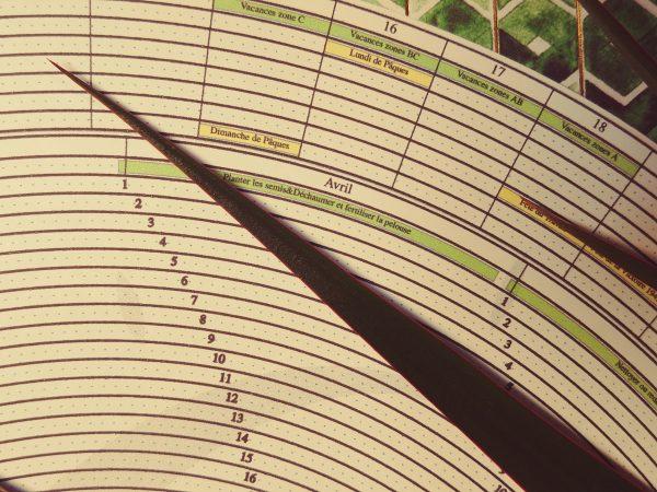 Qab'Agenda Basiques du jardinier 👩🌾 + Calque cycle de la lune et des 366 saints 🌓✨